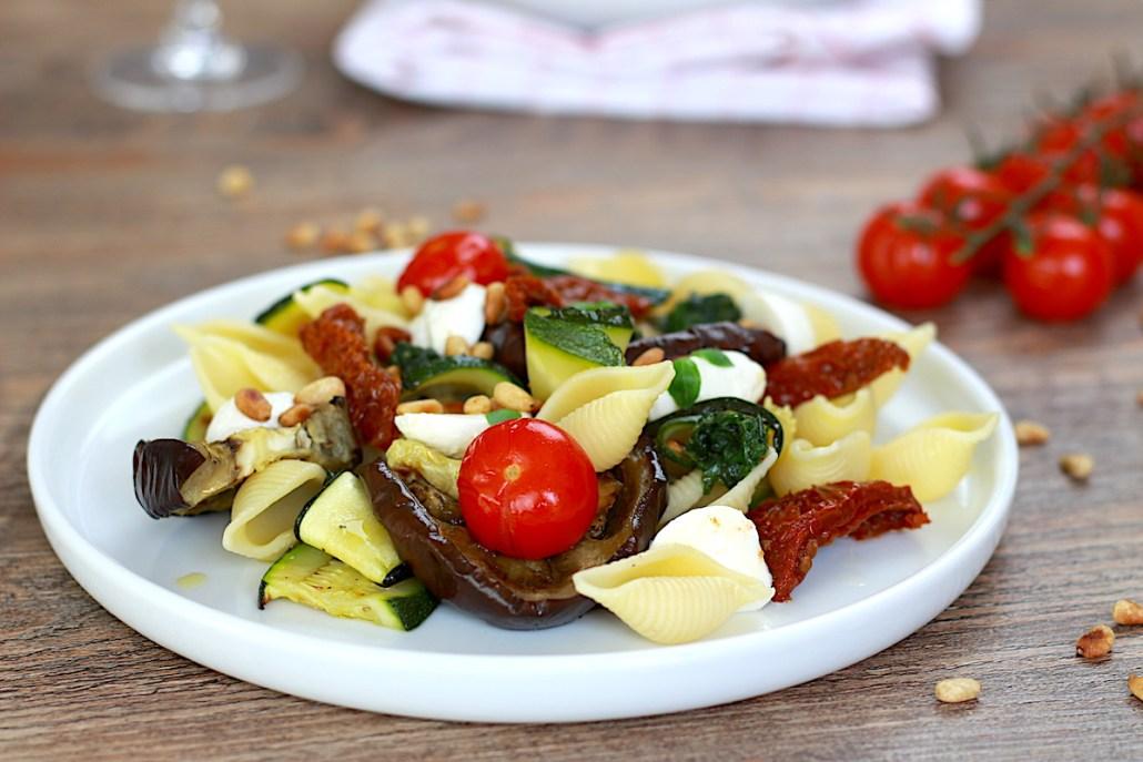 pâtes et légumes à l'italienne