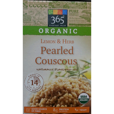 Calories in Couscous. cooked - 1 oz. dry. yields from USDA