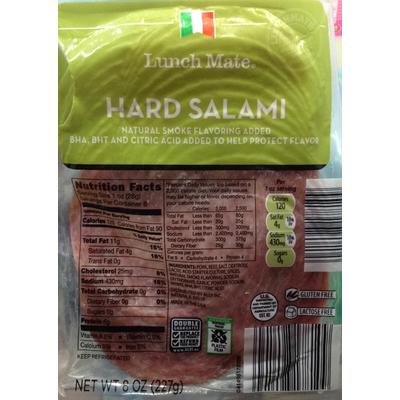 Top 50 most popular: hard salami