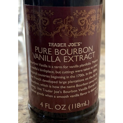 Calories in Vanilla extract - 1 tbsp from USDA