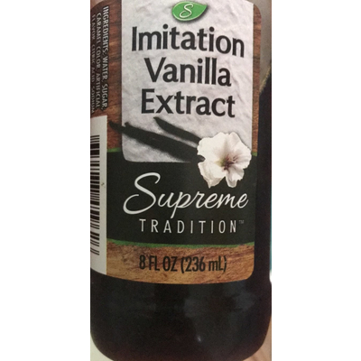 Calories in Vanilla extract - 1 tsp from USDA