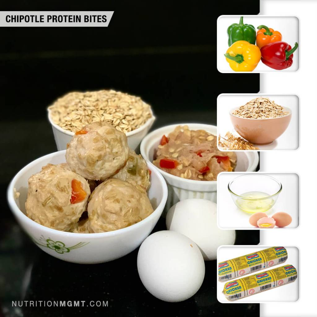 Recipe CHIPOTLE PROTEIN BITES
