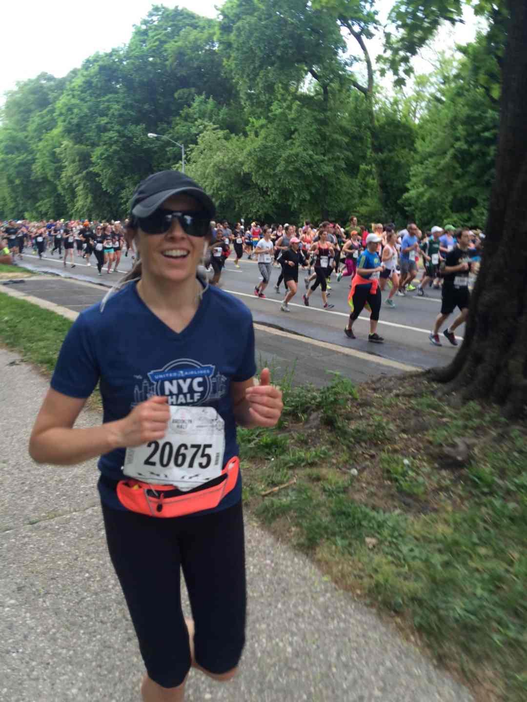 Natalie Rizzo, MS Brooklyn 1/2 Marathon