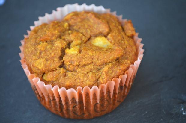 Pumpkin Apple Muffin close-up 2