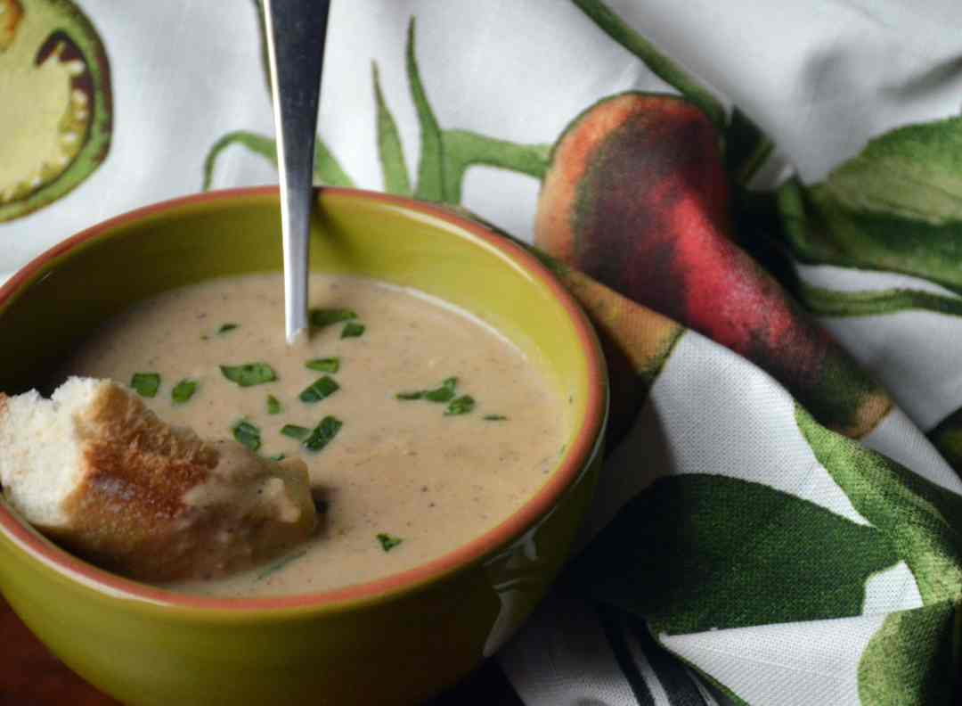 Cauliflower & Onion Soup Side