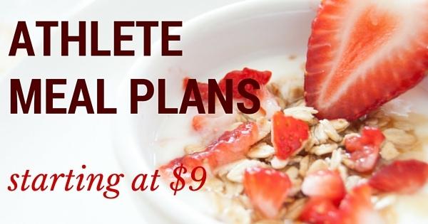 Athlete Meal Plans V3