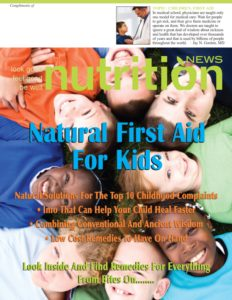 Natural First Aid For Kids cover image