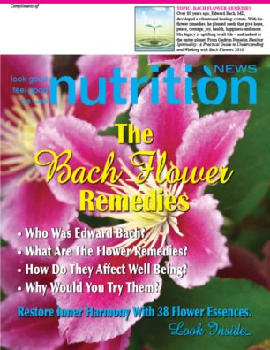Nutrition News Bach Flower Remedies Cover