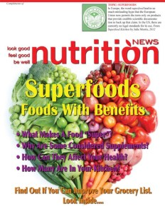 Nutrition News SuperFoods Cover Image