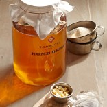 Kombucha is fantastic for gut health, provide you body with health bacteria to ease digestive upset.