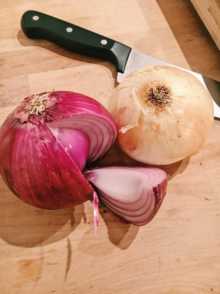 Onions, Why Are You Always Making Me Cry?