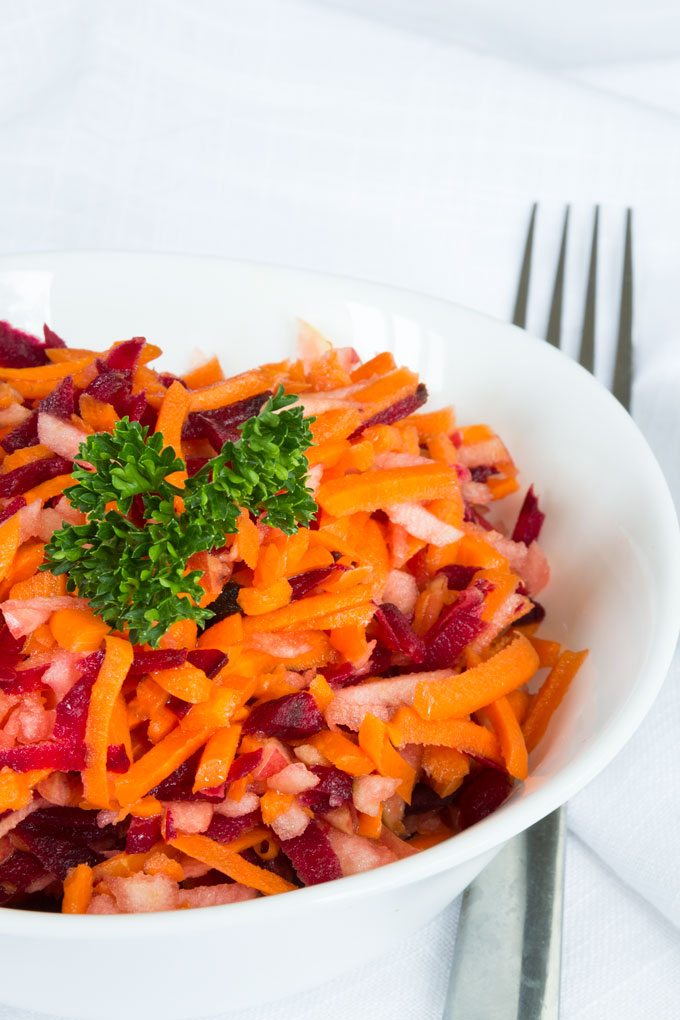 apple beet carrot slaw