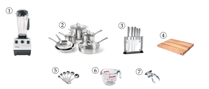 kitchen tools for red lentil soup