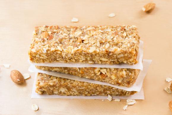 date caramel granola bars - healthy, vegan