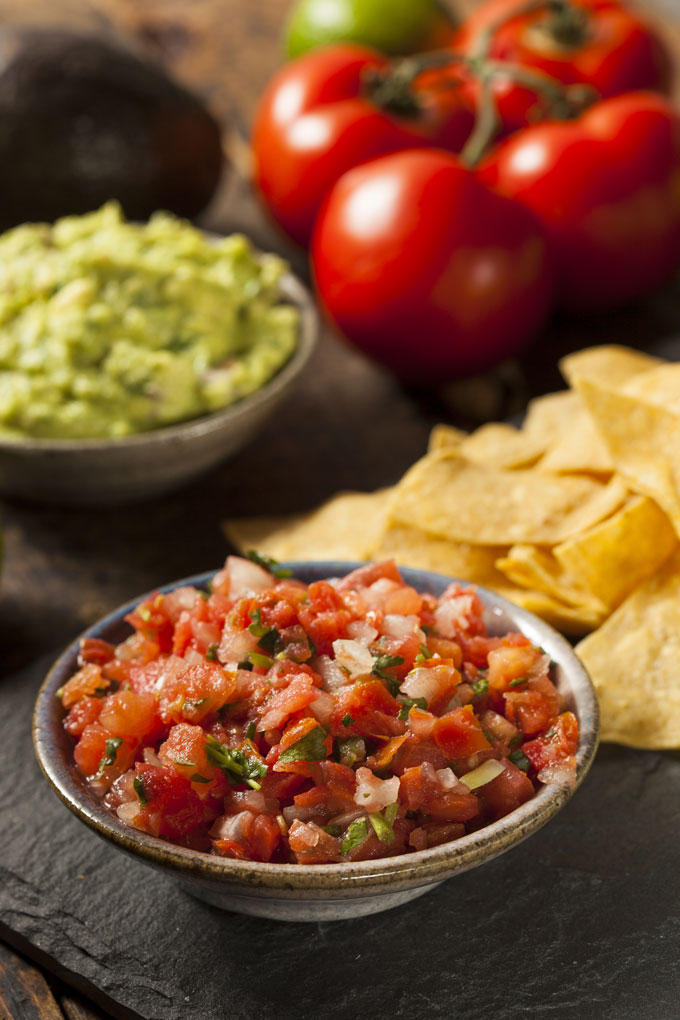pico de gallo - raw salsa fresca