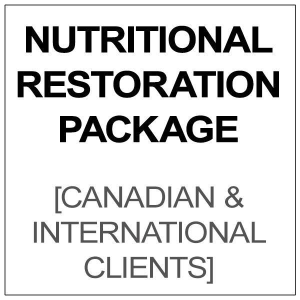 Nutritonal Restoration Package [U.S. CLIENTS ONLY