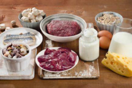 فيتامين B12 الغذاء