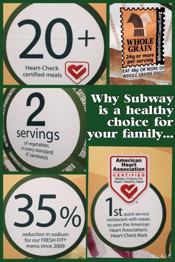 SUBWAY's healthy stats