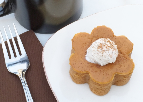 Crustless Mini Pumpkin Pie