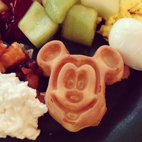 Balanced Disney Buffet Breakfast