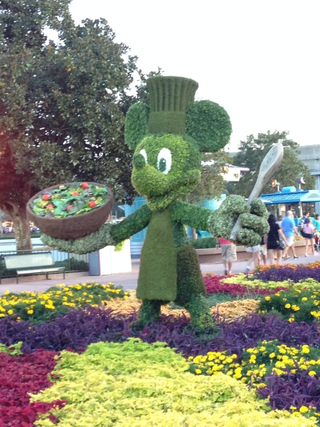 Dining Healthy at Disney? It's Possible!
