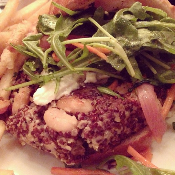 Wolfgang Puck's Quinoa and White Bean Burger