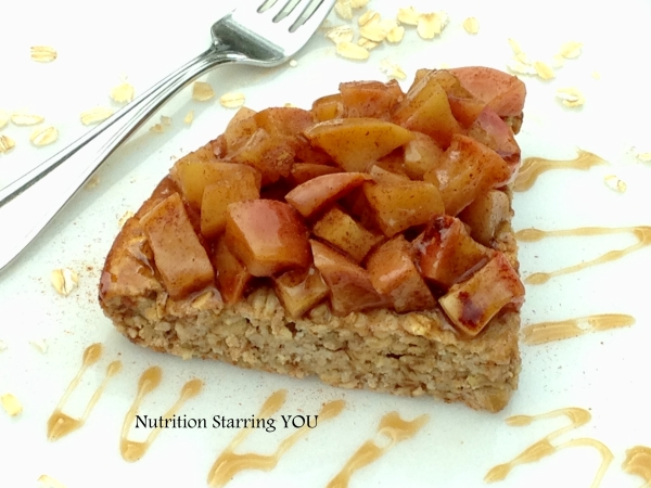 Apple Cinnamon Oatmeal Breakfast Pie