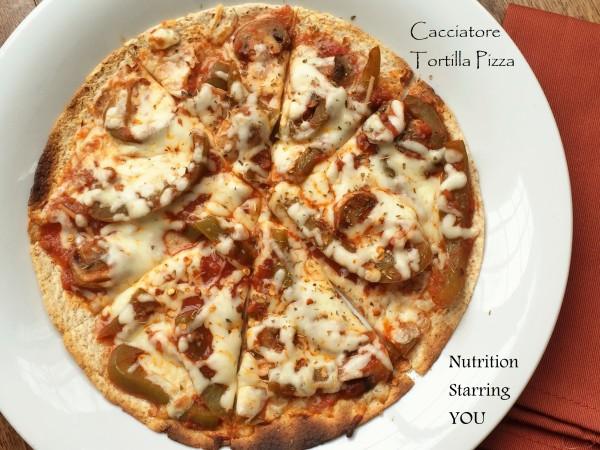 Cacciatore Tortilla Pizza