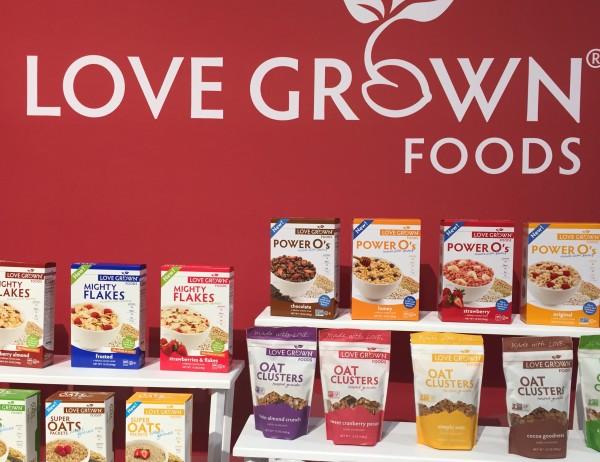 Love Grown Foods Power O's Cereals
