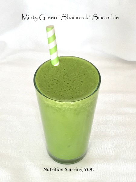 Minty Green Shamrock Smoothie