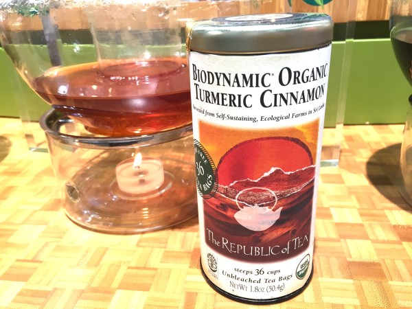 Republic of Tea Biodynamic Organic Tumeric Cinnamon Tea