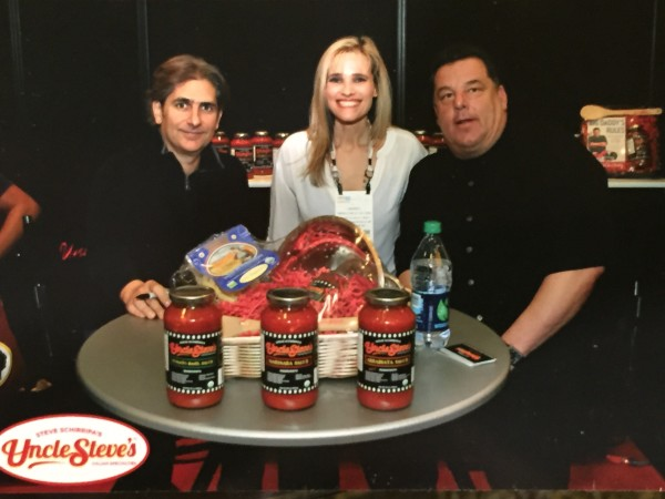 The Sopranos Michael Imperioli and Steve Schirripa- Uncle Steve's Italian Specialties