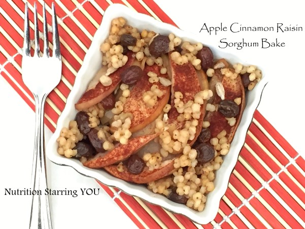 Apple Cinnamon Raisin Sorghum Bake