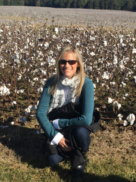 Cotton fields!
