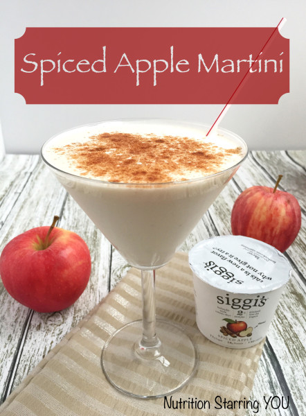 Spiced Apple Martini