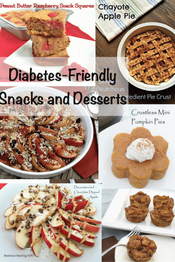 Diabetes-Friendly Snacks and Desserts