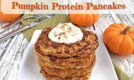 Pumpkin Protein Pancakes- gluten free