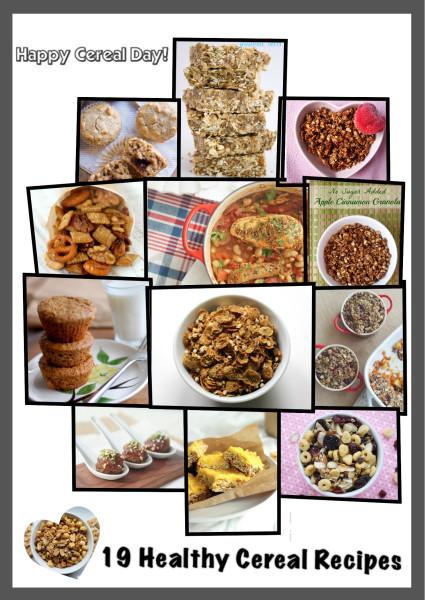 Healthy Cereal Recipe Roundup