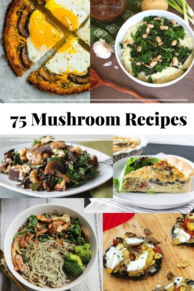 75 Vegetarian and Vegan Mushroom Recipes