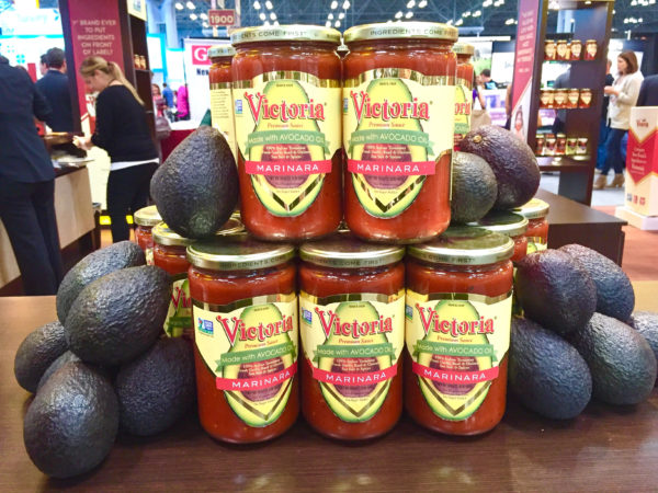 Victoria Fine Foods Marinara with Avocado Oil Summer Fancy Food Show 2016