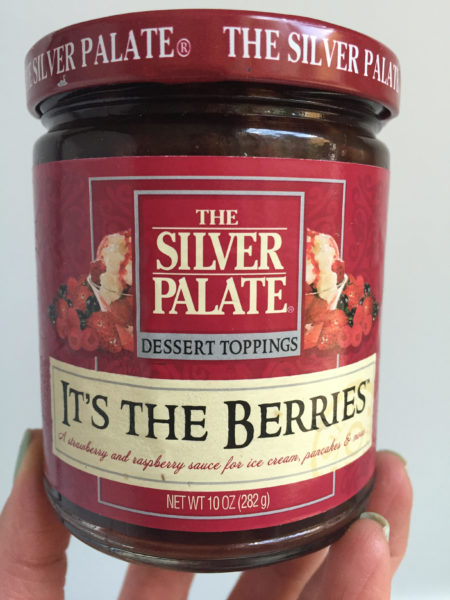 It's The Berries Sauce- The Silver Palate