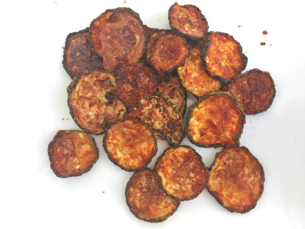 Smoked Paprika Zucchini Chips