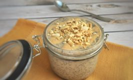 PB Banana Breakfast Chia Pudding – Low FODMAP