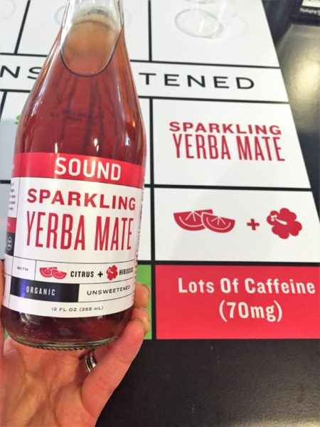 Sound Tea Sparkling Yerba Mate Food Trends at Expo East 2016