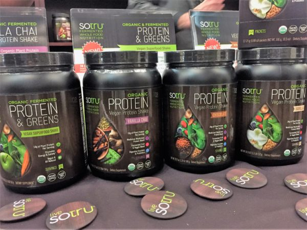 SoTru Fermented Whole Food Protein Powder Food Trends at Expo East 2016