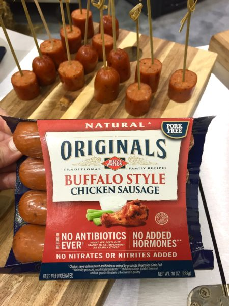 Dietz & Watson Natural Buffalo Style Chicken Sausage