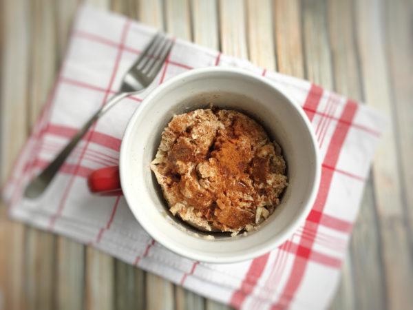 Apple Bread Pudding in a Mug