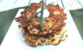 Cauliflower Latkes Pancakes