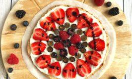 Berry Fruit Tart Grape Balsamic Drizzle
