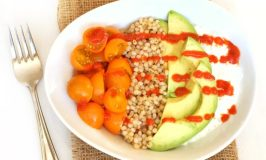 Creamy, Crunchy Sorghum and Avocado Salad